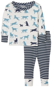 Hatley Pup Play Long Sleeve Mini Pajama Boy's Pajama Sets