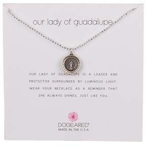 Dogeared Sterling Silver Our Lady Saint Mary Necklace