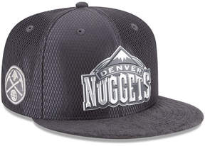 New Era Denver Nuggets On-Court Graphite Collection 9FIFTY Snapback Cap