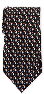 Pierre Cardin Silk Chick Flower Tie