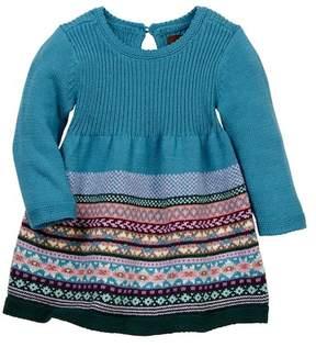 Tea Collection Suzette Sweater Dress (Baby Girls)