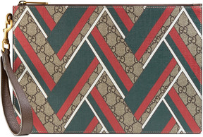 Gucci GG Chevron zip pouch - GG CHEVRON - STYLE