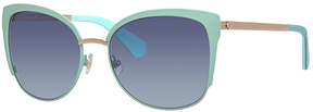 Safilo USA Kate Spade Genice Cat Eye Sunglasses
