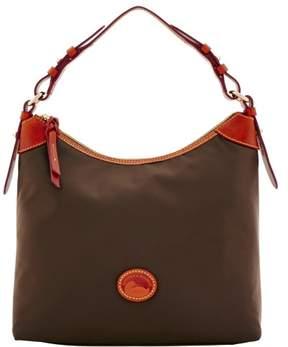 Dooney & Bourke Nylon Large Erica Shoulder Bag - BROWN TMORO - STYLE