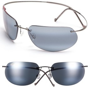 Maui Jim Men's 'Ka'Anapali - Polarizedplus2' 65Mm Sunglasses - Gunmetal