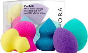 SEPHORA COLLECTION Confetti Set of 5 Mini Sponges