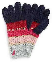 Nautica Metallic Stripe Glove
