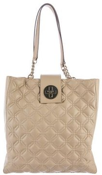 Kate Spade Quilted Tote Bag - NEUTRALS - STYLE