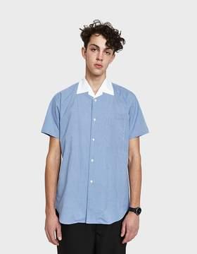 Comme des Garcons Cotton Check x Cotton Poplin Shirt