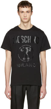 Moschino Black Tonal Logo T-Shirt