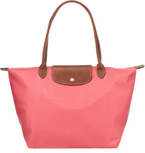 Longchamp Le Pliage Large Shoulder Tote Bag - MEDIUM PINK - STYLE