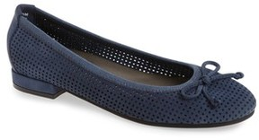 David Tate Women's Albany Perforated Flat