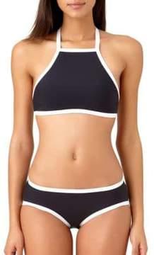 Anne Cole High Neck Bikini Top