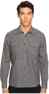 ATM Anthony Thomas Melillo Donegal Twill Shirt Men's Short Sleeve Knit