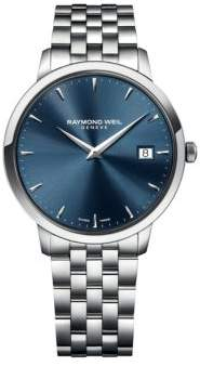 Raymond Weil Mens Toccato Stainless Steel Bracelet Watch