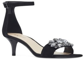 Nine West Women's Lecia Embellished Ankle Strap Sandal