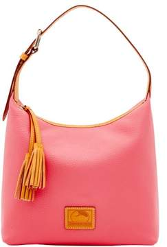 Dooney & Bourke Patterson Leather Paige Sac Shoulder Bag - BUBBLE GUM - STYLE