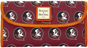Dooney & Bourke Florida State Seminoles Large Continental Clutch
