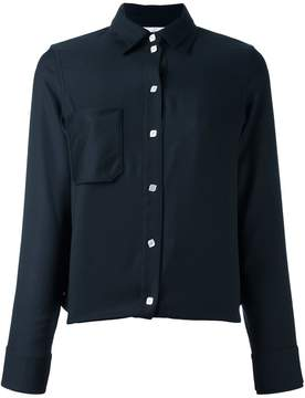 Courreges patch pocket shirt