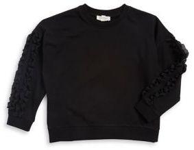 Jessica Simpson Girl's Ruffled Sweater
