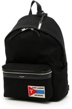 Saint Laurent Patch City Backpack