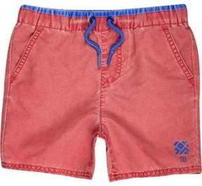 River Island Mini boys red swim trunks