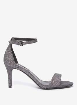 Dorothy Perkins Pewter 'Spritz' Heeled Sandals