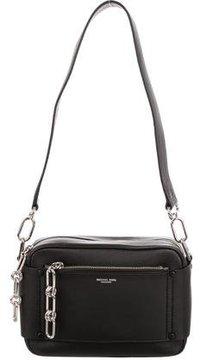Michael Kors Leather Shoulder Bag - BLACK - STYLE