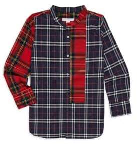 Burberry Little Boy's& Boy's Argus Plaid Shirt