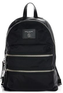 Marc Jacobs Zip-Accented Nylon Backpack