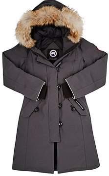Canada Goose Kids' Brittannia Coyote Fur-Trimmed Coat