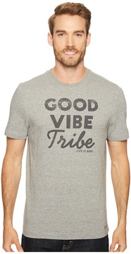 Life is Good Good Vibe Tribe Crusher Tee