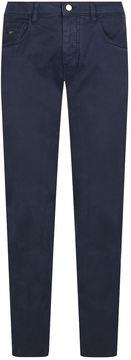 Pal Zileri Cotton Twill Trousers