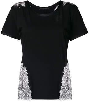 Ermanno Scervino lace insert T-shirt