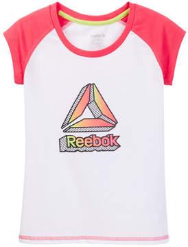 Reebok Ombre Delta Tee (Big Girls)