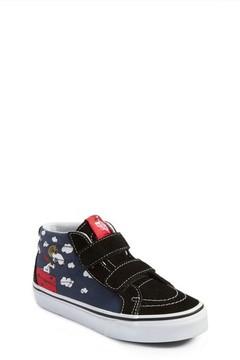 Vans Toddler X Peanuts Sk8-Mid Reissue V Sneaker