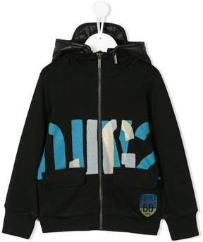John Galliano hooded zipped jacket