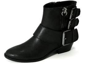 Yellow Box Bootie With Buckles