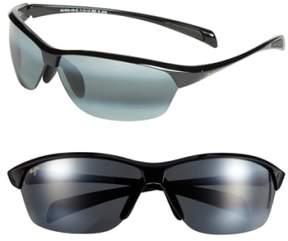Maui Jim Men's 'Hot Sands - Polarizedplus2' 71Mm Sunglasses - Black