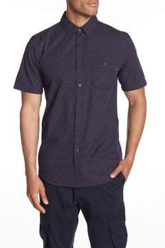 Obey Marc Woven Short Sleeve Regular Fit Shirt