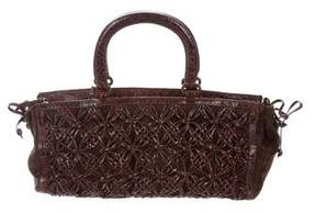 Nancy Gonzalez Crocodile & Suede Bag