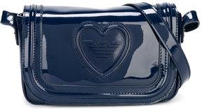 Armani Junior patent shoulder bag