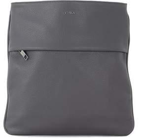 Furla Ulisse Grey Calf Bandolier Bag