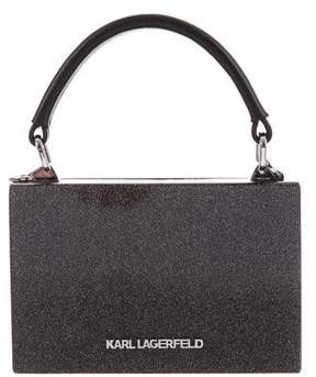Karl Lagerfeld by Glitter K/Sporty Minaudière
