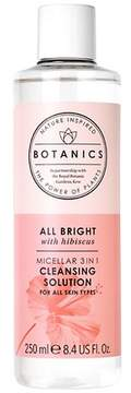 Botanics All Bright Micellar 3 In 1 Cleansing Solution - 8.4oz