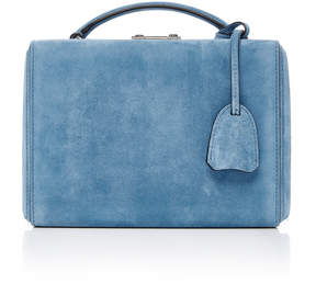 Mark Cross Grace Small Suede Box Bag