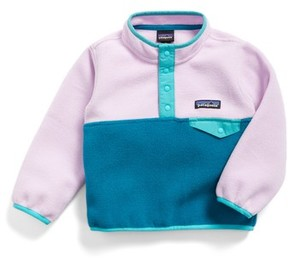 Patagonia Infant Girl's Synchilla Snap-T Fleece Pullover