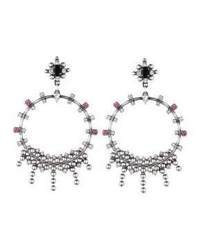 Dannijo Lauren Crystal Statement Earrings