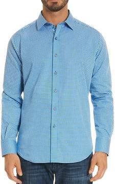 Robert Graham Baron Gingham Regular Fit Button-Down Shirt
