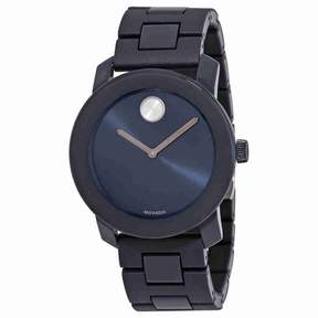 Movado Bold Navy Blue Dial Men's Watch 3600444
